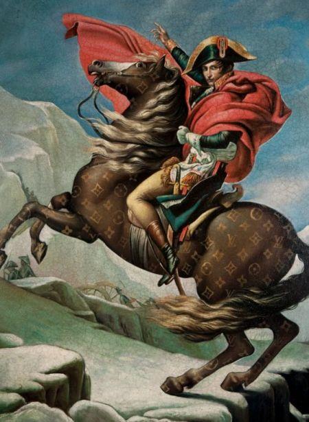 Jason Alper - Napoleone valica il San Bernardo di David