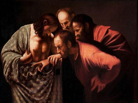 Jason Alper - L'Incredulità di San Tommaso del Caravaggio