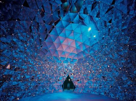 "Buckminster Fuller - il ""Duomo di Cristallo"" Swarowski Kristallwelten"