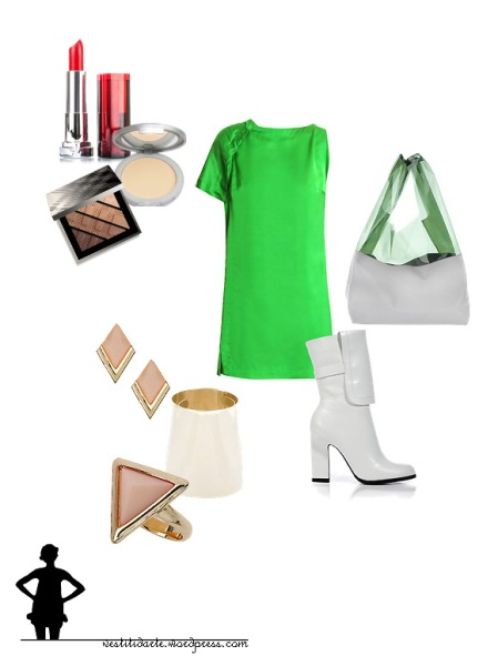 Outfit Ragazza in verde
