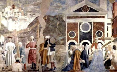 """Piero della Francesca - """"Storie della Vera Croce"""", Arezzo (1452-1466)"""