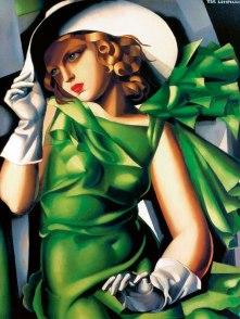 Tamara de Łempicka - Ragazza in verde (1932 circa)
