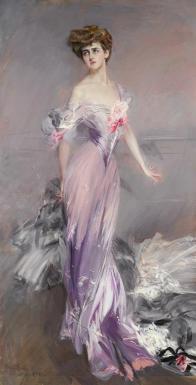 Giovanni Boldini - Ritratto di Mrs. Howard Johnston (1906) collezione privata