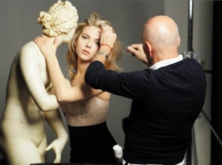 La campagna make-up di D&G con Scarlett Johansson e la Venere Medici