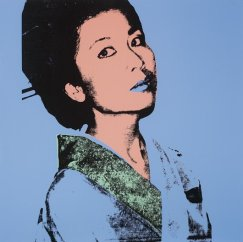 Andy Warhol - ritratto di Kimiko Powers