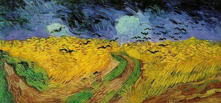 Van Gogh - Campo di grano con volo di corvi (1890)