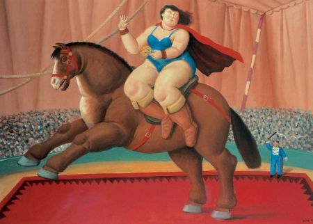 Fernando Botero - La Cavallerizza